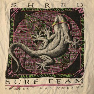 Lifeforms, Vintage, Shred Surf Team, Large